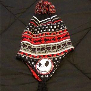 Jack Skellington Winter Pom Hat! Never worn!